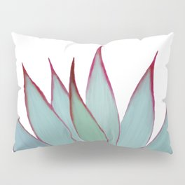 Elegant Agave Fringe Illustration Pillow Sham