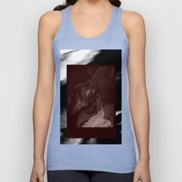 Abstract - Grey Rare Film Clippings Unisex Tank Top