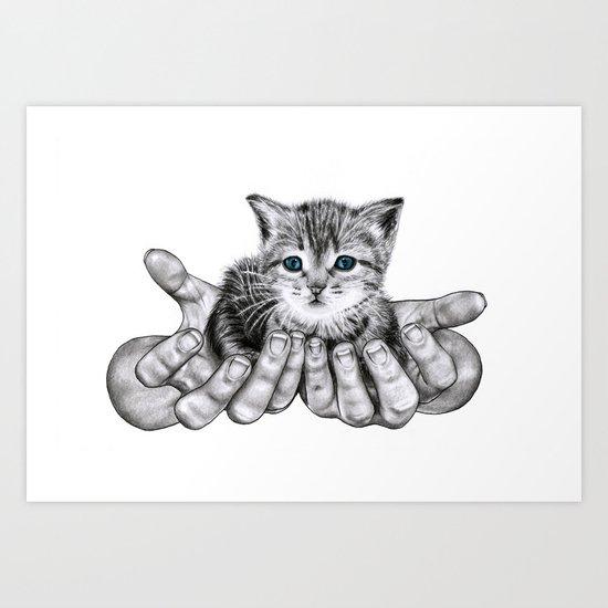 Possession // Graphite Art Print