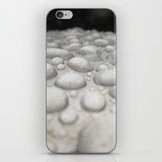 Raindrops on Metal iPhone & iPod Skin