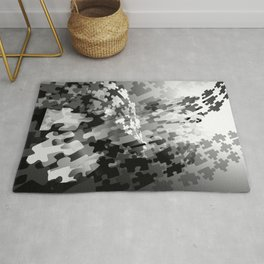 Picture of a Puzzled Mind Rug