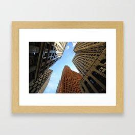 Cathedral of Finance Framed Art Print