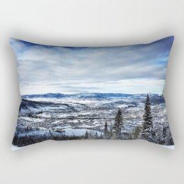 Bluebird Day Rectangular Pillow