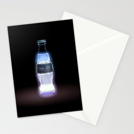 Coca bottle in Fallout video game Stationery Cards