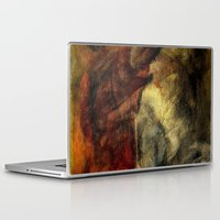 poetry Laptop & iPad Skins featuring poetry studies by Imagery by dianna