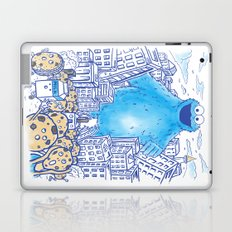 Monster in the city Laptop & iPad Skin