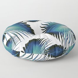 Fan Palm Leaves Paradise #1 #tropical #decor #art #society6 Floor Pillow