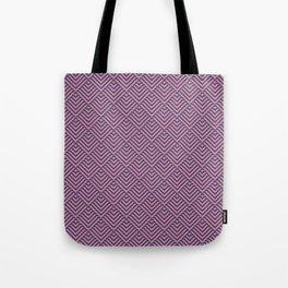Deco Diamonds - Pink and Purple Tote Bag
