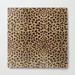 Leopard Skin Metal Print