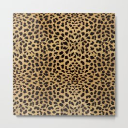 Cheetah Print Metal Print