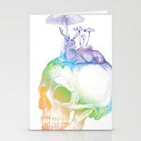 mushroom Stationery Cards featuring Mushroom by dogooder