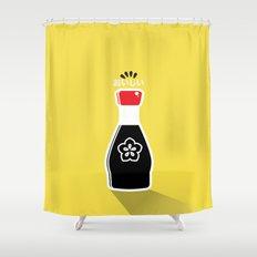 In My Fridge - Soy Sauce Shower Curtain