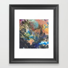 Colorful Abstract Nature 1 Framed Art Print