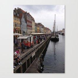 Nyhavn Pier  Canvas Print
