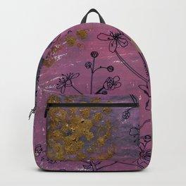 gypsophila : botanical study Backpack