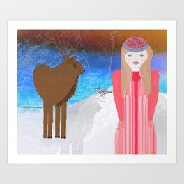 Toodaloo Art Print