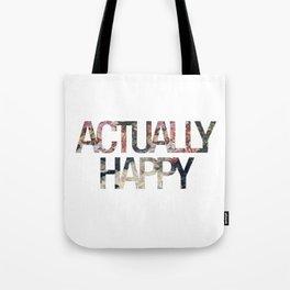Actually // Happy Tote Bag