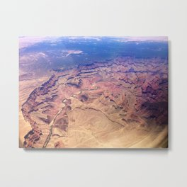 Grand Canyon From Above Metal Print