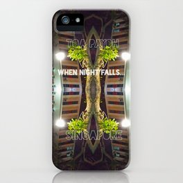 NIGHTFALL@HDB iPhone Case