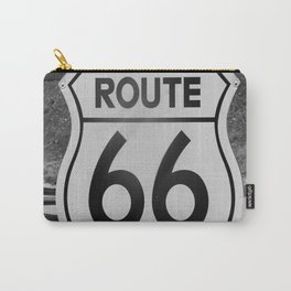 Route 66 Sign Carry-All Pouch
