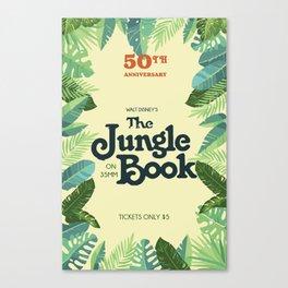 Jungle Book Canvas Print
