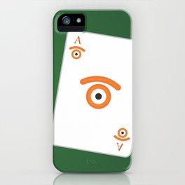 poker of glances iPhone Case