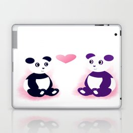 Panda Love Laptop & iPad Skin