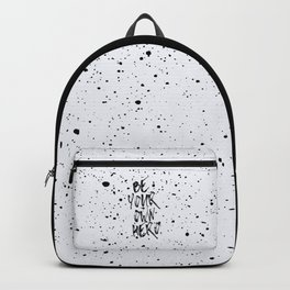 Be Your Own Hero Quote Backpack