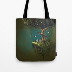 Apple Ninja Tote Bag