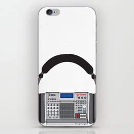 Executive Groove Sampler-Head [ MPC Only ] iPhone Skin