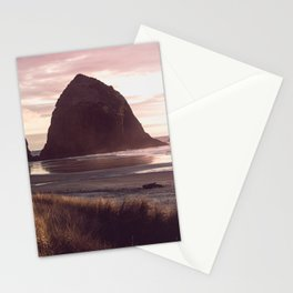 Cannon Beach Sunset Stationery Cards