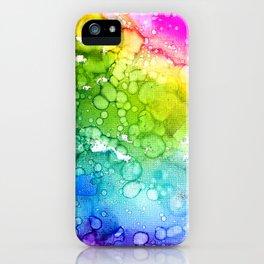 Rainbow Rush iPhone Case