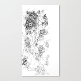 the floating fantasy Canvas Print