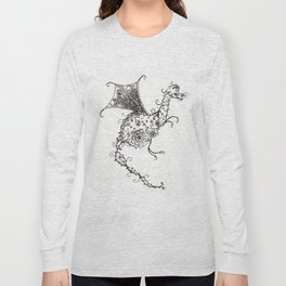 Garden Dragon Long Sleeve T-shirt