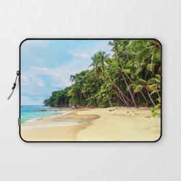 Tropical Beach - Landscape Nature Photography Laptop Sleeve