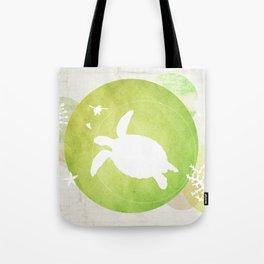 Ocean Series - Mama Turtle Tote Bag