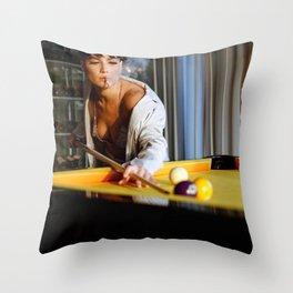 Halsey 69 Throw Pillow