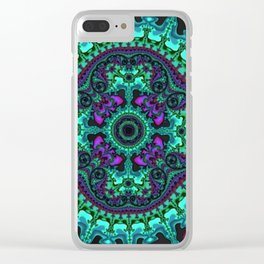 Time Keeps on Slipping into the Future Clear iPhone Case