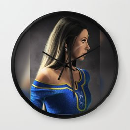 Nidalee in Demacia's court Wall Clock