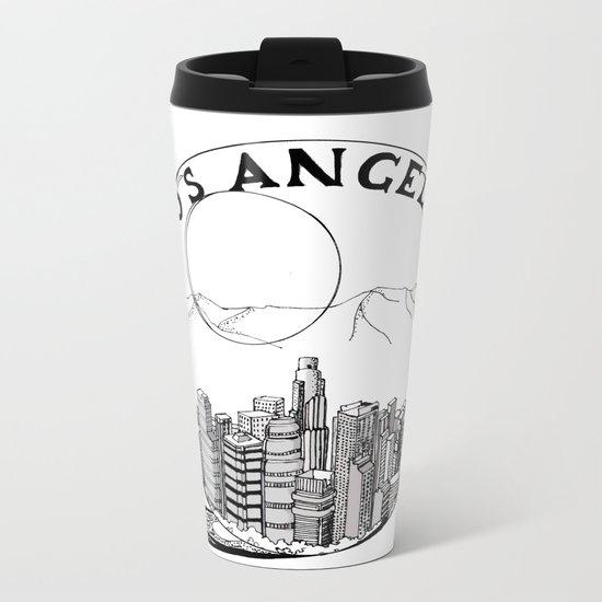 Los Angeles in a glass ball Metal Travel Mug