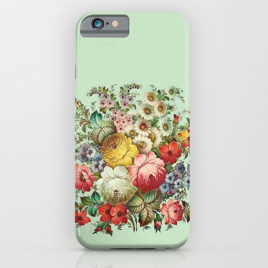 Russian Flowers iPhone & iPod Case
