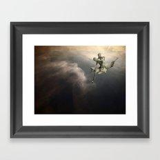 SkyWater Hero Framed Art Print