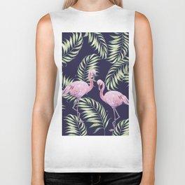 Flamingos #society6 Biker Tank