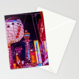 Electric Postcard from Osaka Stationery Cards