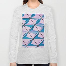 Pattern blue purple Long Sleeve T-shirt
