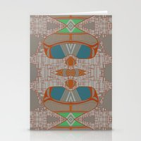 megan lara Stationery Cards featuring lara by kallia panopoulou