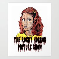 rocky horror picture show Art Prints featuring The Rocky Horror Picture Show by AdrockHoward