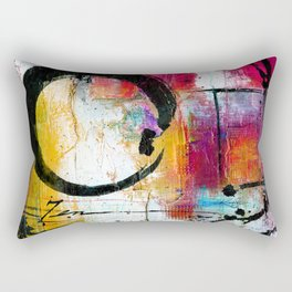 Enso Abstraction No. mm15 Rectangular Pillow