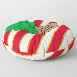 Christmas Present Floor Pillow