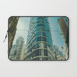 CITY - BUILDING - SQUARE - PHOTOGRAPHY Laptop Sleeve